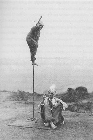 Indian Rope Trick Photo - Fake