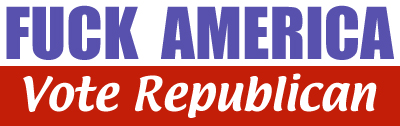 Republican Bumper Sticker - Designed by A. L. English
