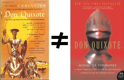 Don Quixote Translations