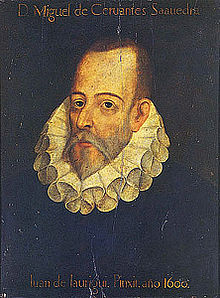 Jauregui's Cervantes - not actually Cervantes
