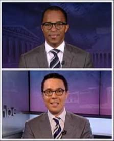 Jonathan Capehart and Ryan Lizza Dress Alike
