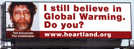 Heartland Global Warming Billboard