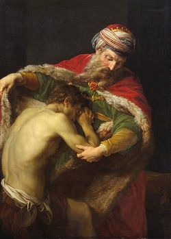 The Return of the Prodigal Son - Pompeo Batoni