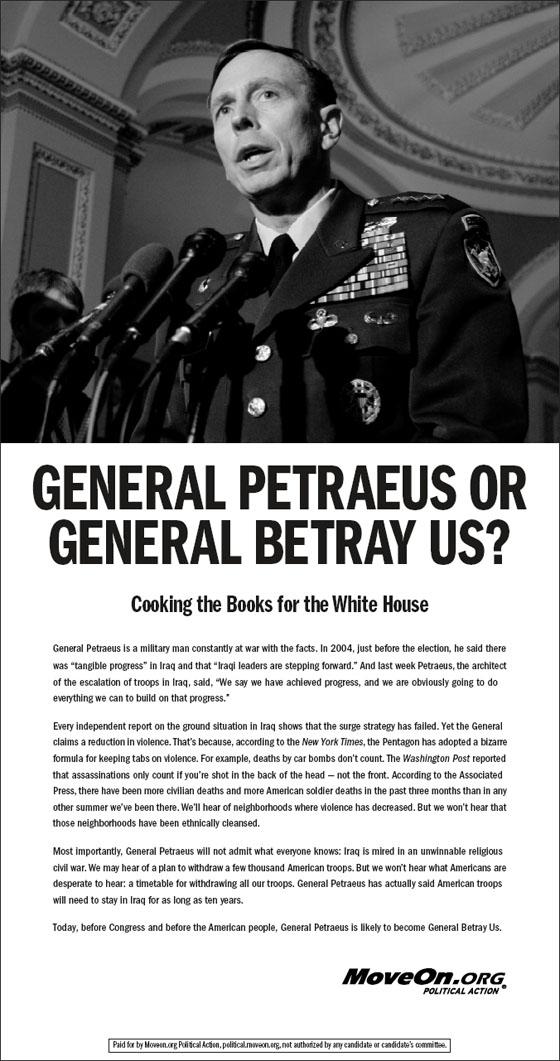 General Betray Us