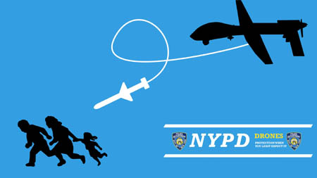 NYPD Drones - Protection When You Least Expect It