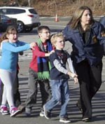 Sandy Hook Elementary School shooting aftermath