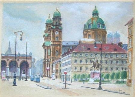 Oedensplatz - Adolf Hitler