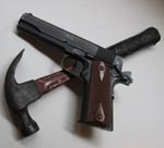 Hammer and Handgun
