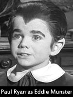 Paul Ryan - Eddie Munster