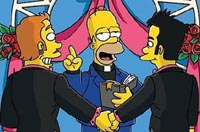 Same Sex Marriage - Homer - Simpsons