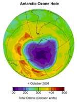 Arctic Ozone Hole