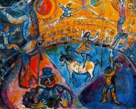 Marc Chagall - Circus