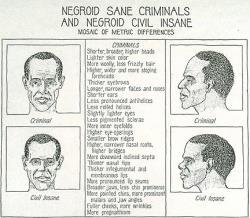 Eugenics - Negro Sane Criminals