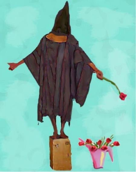 Bush Painting Abu Ghraib