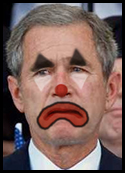 Bush Sad Clown