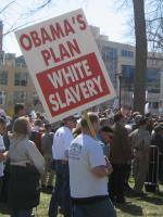 Obama's Plan: White Slavery