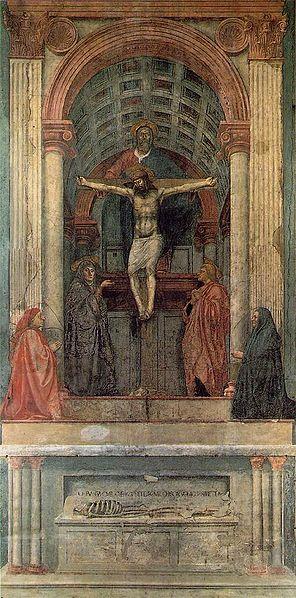 Holy Trinity - Masaccio