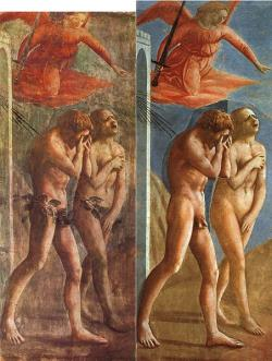 The Expulsion - Masaccio