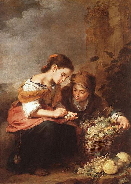 The Little Fruit Seller - Murillo