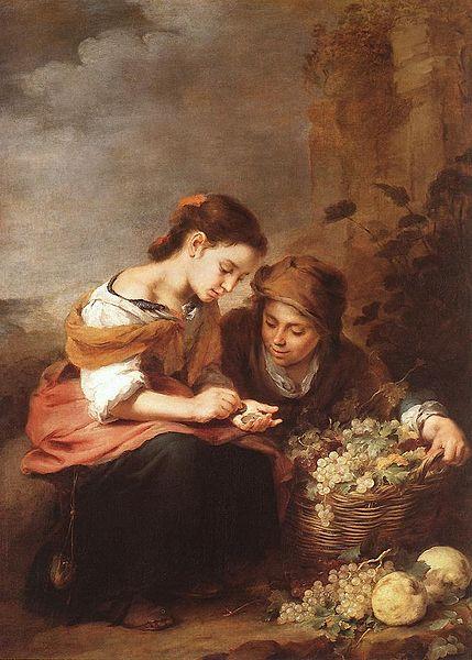 The Little Fruit Seller - Murillo