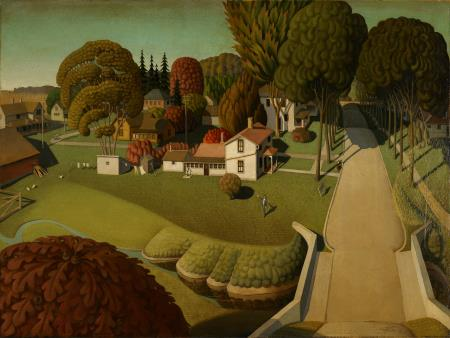 Birthplace of Herbert Hoover - Grant Wood