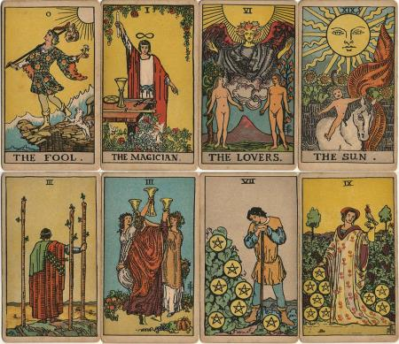 frankly curious » ever beautiful tarot cards, Birthday card