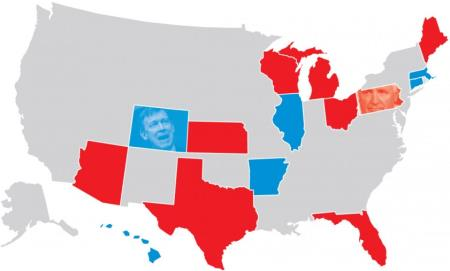 Competitive 2014 Governor Races