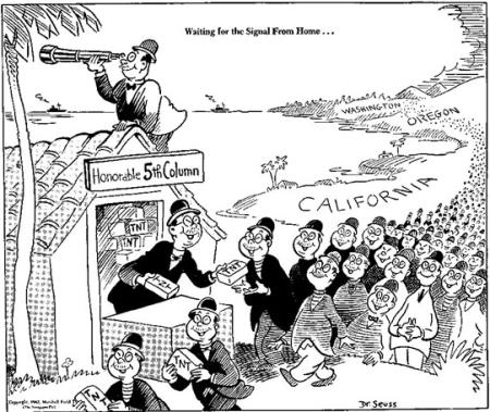 Dr Seuss Anti-Japanese Cartoon