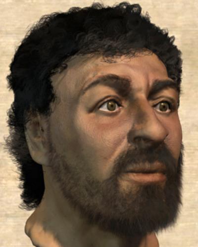 Anthropologist Rendering of Jesus