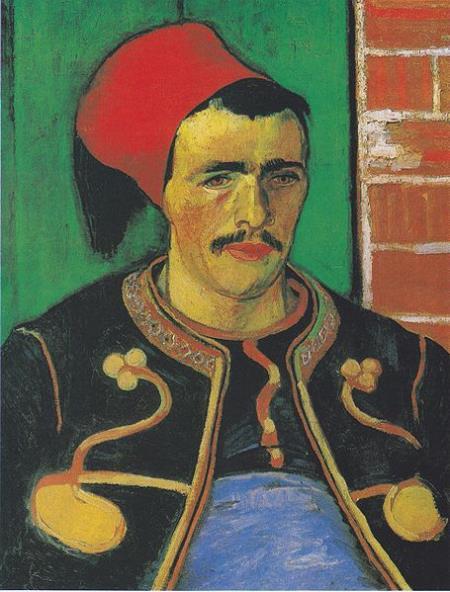 The Zouave (half-figure) - Vincent van Gogh