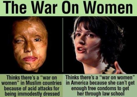 Vile Conservative Take on the War on Women