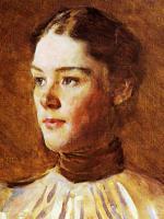 Cecilia Beaux - Self Portrait Detail