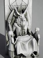 Satanic Temple Monument