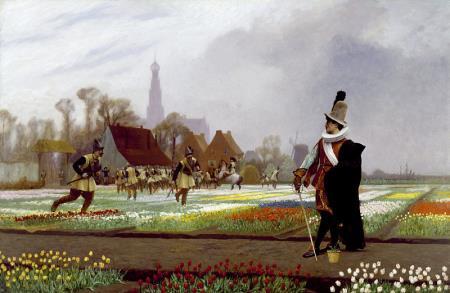 The Tulip Folly - Jean Leon Gerome