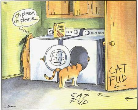 Cat Fud - Far Side