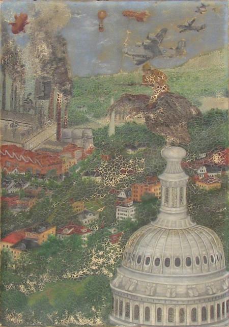 Bernard Frouchtben - War Painting