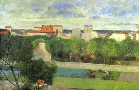 The Market Gardens of Vaugirard - Paul Gauguin