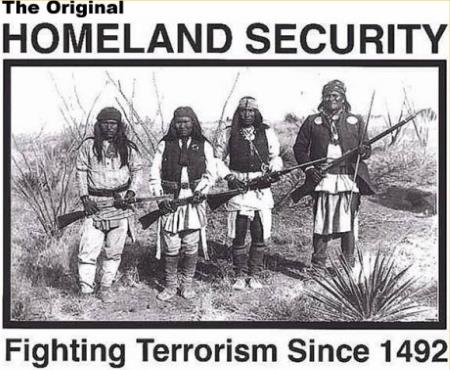 Native Americans Fighting Terrorism Since 1492