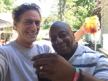 Anthony Cumia With Black Man