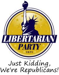 Libertarian Party: Just Kidding, We're Republicans!