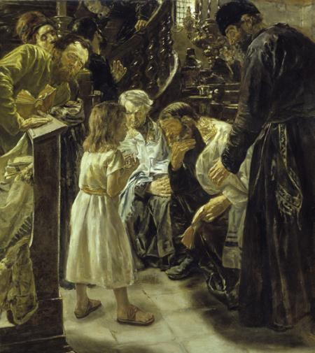 The 12-Year-Old Jesus in the Temple With the Scholars - Liebermann