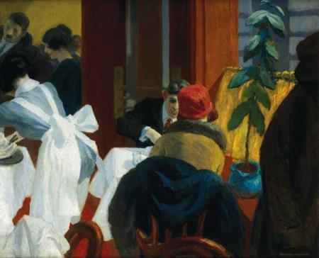 New York Restaurant - Hopper