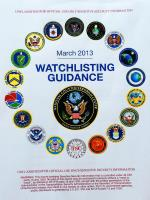 Watchlisting Guidance