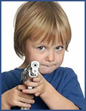 Armed Toddler
