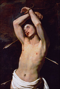 the life and times of saint sebastian In artwork, st sebastian is depicted with arrows shot into his body, often tied to a post or a tree his second execution is virtually never depicted st sebastian is the patron saint of soldiers, athletes, and those who desire a saintly death.
