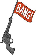 bang gun