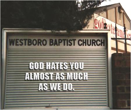 Westboro Sign