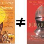 Don Quixote Abridged: Putnam's Omissions