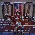 House Hurricane Sandy Relief Vote