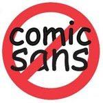 My Defense of Comic Sans